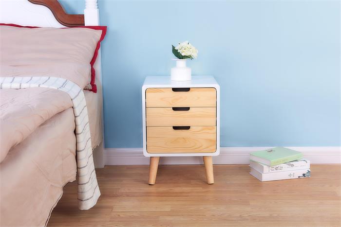 卧室床头柜一般尺寸是多少?床头柜有哪些类型可以选择?