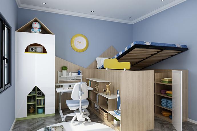 儿童房定制家具选购误区解疑环保尤为重要,环保儿童房家具美尼美首选